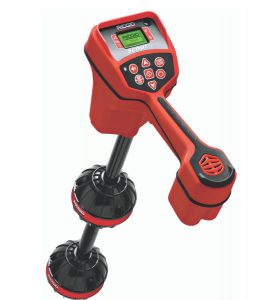 The Ridgid Scout Locator pinpoints the exact position of a blocked drain